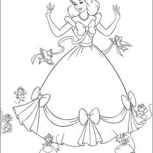Coloriage cendrillon gratuit coloriages avec dessin - Coloriage blanche neige a imprimer gratuit ...